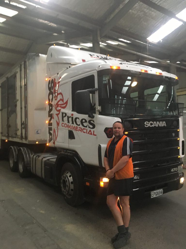 Tony from Prices Packing and Storage Dunedin